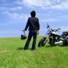 バイクと野宿とキャンプ